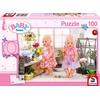 Schmidt Spiele Puzzle - Blumenmädchen Kinderpuzzle,
