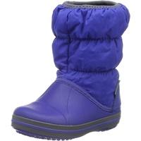 Crocs Winter Puff Boot Kids, 14613 Cerulean Blue/Light Grey, Größe: 24.5