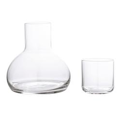 Bloomingville Decanter & Glas Durchsichtiges Glas