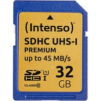 Intenso SDHC Premium Class 10 UHS-I