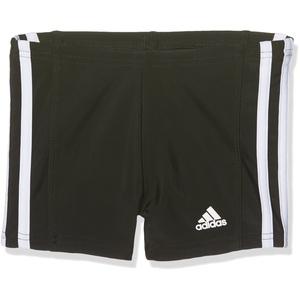 adidas Jungen Essence Core 3 Stripes Badehose, schwarz (Black/White), 164
