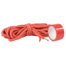 Lumunu Bondage-Seil Deluxe Bondage Set (rot)