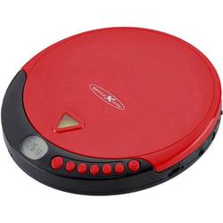 Reflexion PCD510MF Tragbarer CD-Player CD, CD-R, CD-RW, MP3 Rot