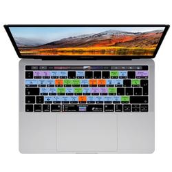 KB COVERS KB Covers Tastatur-Abdeckung MacOS Shortcuts Hotkeys Deutsch QWERTZ Keyboard-Layout Skin Schutz-Cover Hülle Passend für MacBook Air 13