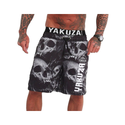 YAKUZA Badeshorts Muerte Skull V02 M