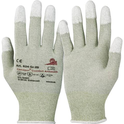 KCL Camapur Comfort Antistatik 624 Polyamid Arbeitshandschuh Größe (Handschuhe): 7, S EN 16350:201
