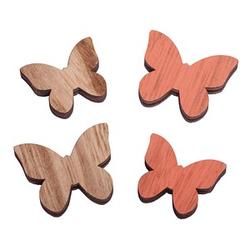 Rayher Holz-Streudeko Schmetterling 9 St.