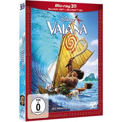 BLU-RAY Vaiana - 2D & 3D Hörbuch
