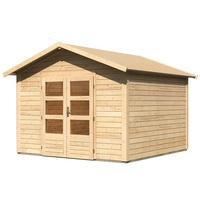 Woodfeeling Talkau 8 3,00 x 3,00 m natur