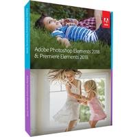 Adobe Photoshop Elements 2018 & Premiere Elements 2018 DE Win Mac
