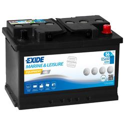 Exide ES650 Equipment Gel (Gel G60) 56Ah