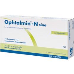 Ophtalmin-N sine Augentropfen