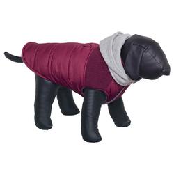 Nobby Hundemantel Hoodie weinrot, Länge: 26 cm