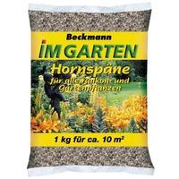 BECKMANN Hornspäne für alle Balkon- und Gartenpflanzen 1 kg