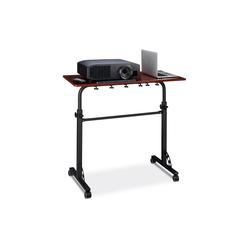 relaxdays Laptoptisch Laptoptisch groß Premium XXL rot