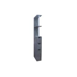 HTI-Line Raumteiler Nischenregal Thekla L, 1-tlg., Nischenregal grau