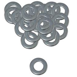 200 Stk. Unterlegscheibe Stahl verzinkt - 10,5 x 20 x 2 mm - nach DIN 125 - für Schrauben 10 mm