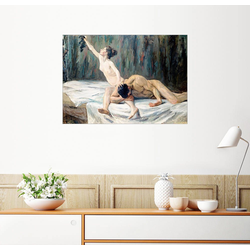 Posterlounge Wandbild, Simson und Delila 90 cm x 70 cm