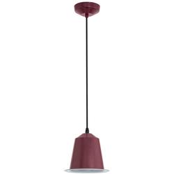 5 Watt LED Decken Pendel Hänge Lampe Leuchte Stahl bordaux IP20 Eglo 75106