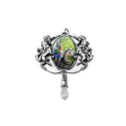 Adelia´s Amulett Cabochon Talisman, Realm Of Enchantment Cabochon
