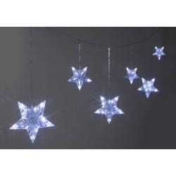 Lichterkette mit Sternen, 90 LED