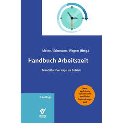 Handbuch Arbeitszeit als Buch von