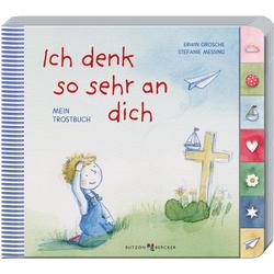 Ich denk so sehr an dich als Buch von Erwin Grosche