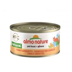 Almo Nature Thunfisch und Garnelen Pro 24 Stück (Natural)