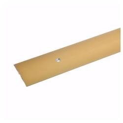 acerto® Übergangsprofil acerto®Übergangsprofil aus Alu mittig gebohrt 100 cm gold