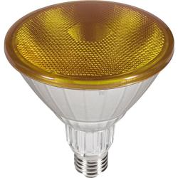 SEGULA Reflektor LED-Leuchtmittel, E27, 1 Stück, Extra-Warmweiß, LED Reflektor, gelber LED Reflektor, LED Lampe gelb, bunte LED Beleuchtung außen, LED im Außenbereich, nicht dimmbares LED Leuchtmittel für draußen, IP 65 LED Lampe