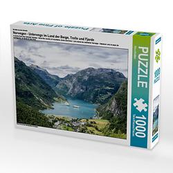 Norwegen - Unterwegs im Land der Berge, Trolle und Fjorde Lege-Größe 64 x 48 cm Foto-Puzzle Bild von Rico Ködder Puzzle