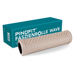 Pinofit Faszienrolle Wave Warm Grey Art.-Nr.: 43131