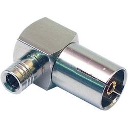 TechniSat MODITEL1 Antennen-Winkeladapter SMB-Buchse an Antennenbuchse 75Ω Silber Antenne