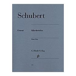 Klaviertrios  Klavier  Violine und Violoncello. Franz - Klaviertrios Schubert  - Buch