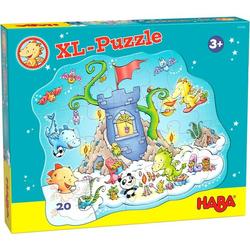 HABA 305466 - Puzzle Drache Funkelfeuer, Puzzle Party,