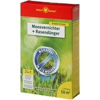 WOLF-Garten Moosvernichter und Rasendünger SW 50 1 kg