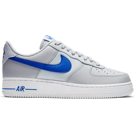 Nike Men's Air Force 1 '07 grey-blue/ white, 43