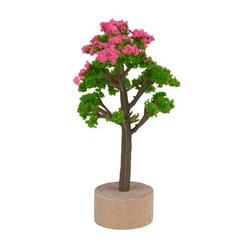 HobbyFun Dekofigur Baum, 3,5 cm x 5,5 cm bunt