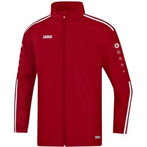 JAKO Herren Allwetterjacke Striker 2.0 Regenjacke, Chili rot/Weiß, L