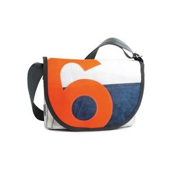 360Grad Handtasche 360 Grad Perle Satchel Damenhandtasche aus Segeltuch und Tweed mit Zahl Neon Orange Segeltuchtasche