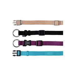 TRIXIE Premium Halsband XS-S 22-35 cm / 15 mm schwarz