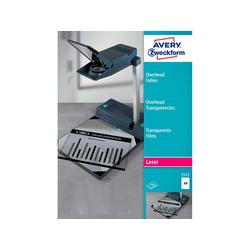 100 Avery Zweckform Laserdruck- und Kopierfolien Nr. 3552