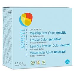 SONETT Waschmittel COLOR sensitiv 6 x 1,2 kg Pulver