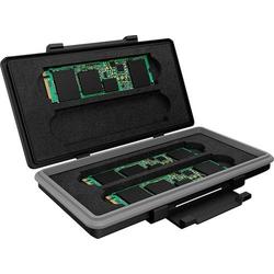 ICY BOX IB-AC620-M2 Festplatten-Aufbewahrungskoffer