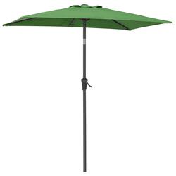 garten gut Sonnenschirm, LxB: 120x190 cm, abknickbar, ohne Schirmständer grün