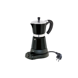 Cilio Espressokocher Elektrischer Espressokocher CLASSICO schwarz