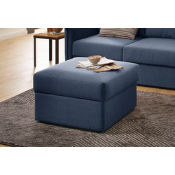 Home affaire Hocker Boltenhagen, mit Stauraum blau