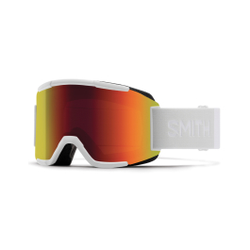 Smith - Forum White Vapor Red Solx Mirror - Skibrillen