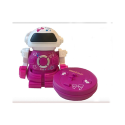 Gear2Play Roboter Mini Bot in can rosa