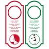 Sauvage Cosmetique Sauvage Türschild rot/grün (1 Karton = 10 Stück)